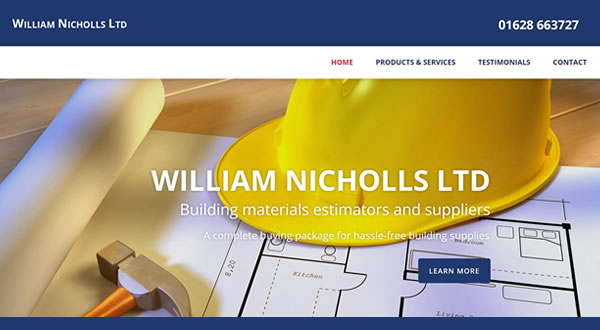 Website design Marlow based surveyor